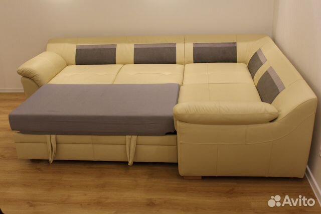 диван кровать Ikea бьербу 3 х местный угловой купить в республике