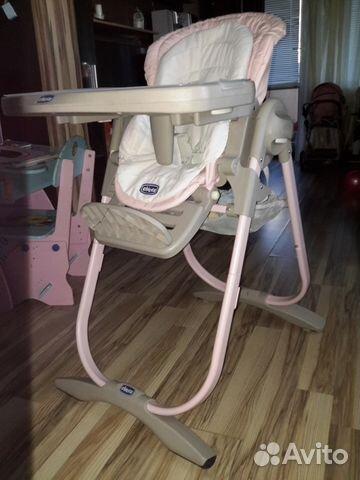 стульчик для кормления Chicco Polly Magic Vapor купить в республике