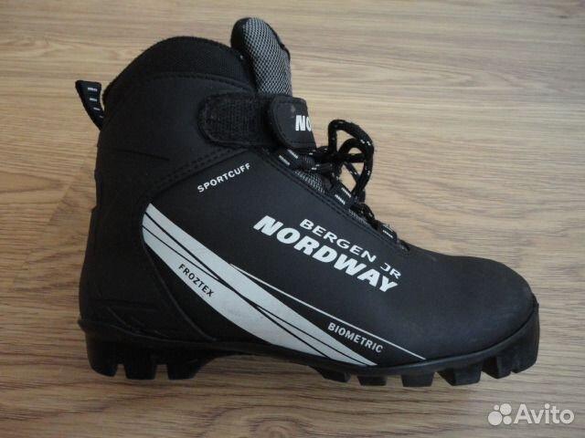 Детские лыжные ботинки р. 35   Festima.Ru - Мониторинг объявлений 9e21281a9ef