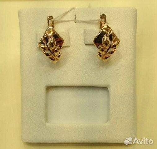 Золотые серьги купить в Свердловской области на Avito — Объявления ... 5b5c6dfdfc1