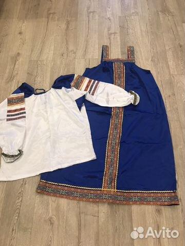 dd66f34f878 Костюм в русском стиле(сарафан и рубаха) р.M