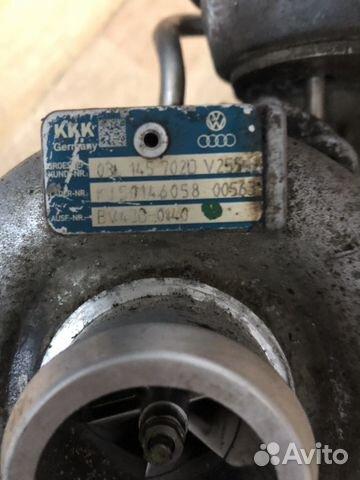 турбина для Audi A4 B8 A6 C6 Q5 20 Tdi купить в мурманской