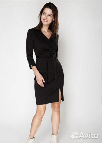 03bcefa94f1333d Классическое черное платье купить в Самарской области на Avito ...