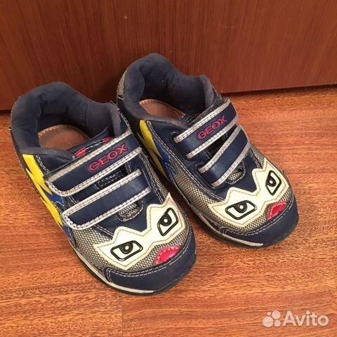 5292d035a Кроссовки для мальчика Geox размер 25 купить в Челябинской области ...
