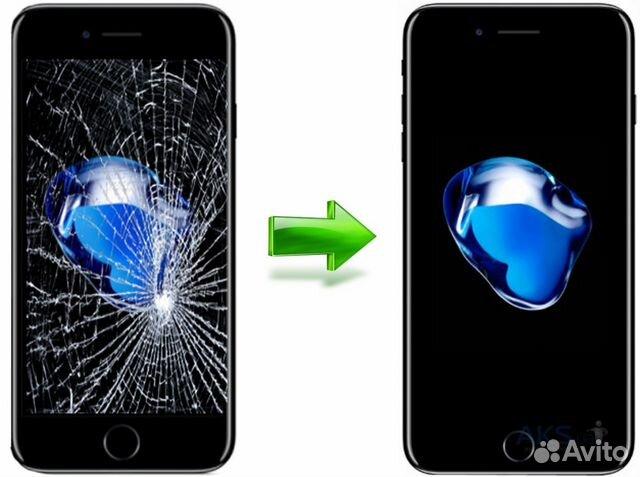 замена дисплея iphone 5 сочи