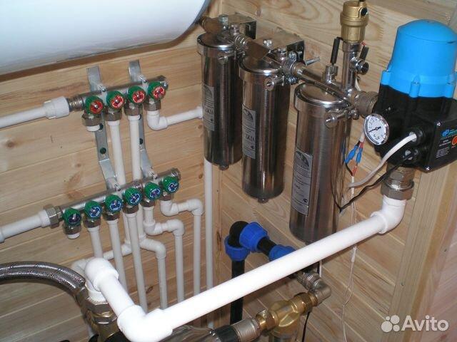 Водопровод под ключ 89676550890 купить 2