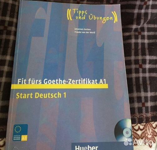 учебник немецкого Fit Frs Goethe Zertifikat A1 купить в москве на