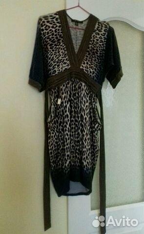Новое платье с леопардовым принтом
