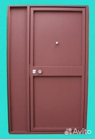 технические гаражные железные двери