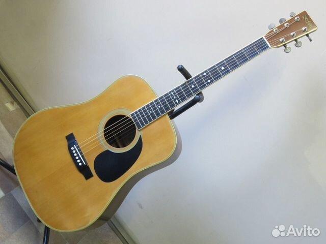 89025069832 Акустическая гитара Cat's Eyes CE-250 (1981 Japan)