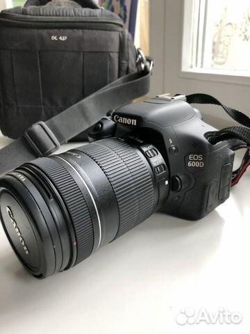 Canon 600D DS126311 купить в Москве на Avito — Объявления на