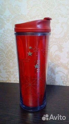 Термо кружка Starbucks 2009 года звезды новая 89223606442 купить 1