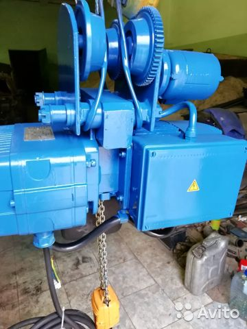The hoist 0.5 t, 6m (Demag, Germany, like new) buy 4