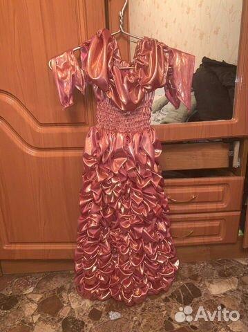 Новогоднее красивое платье для юной принцессы 5-7 89875712026 купить 1