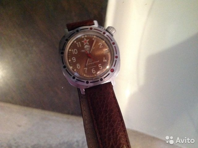 Авито командирские продам часы выгодно часы где продать швейцарские