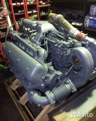 Мотор ямз 7511 без кпп и сцепления с навесным 89056335962 купить 1