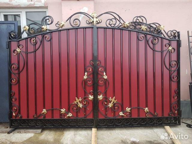Кованые ворота 89009244646 купить 5