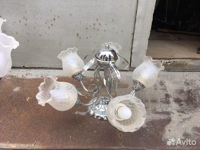Люстра новая (лампочки в комплекте)(г. Соликамск)  89082628917 купить 2