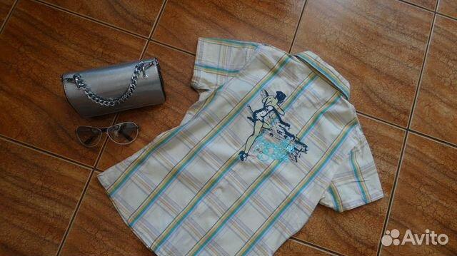 Фирменные рубашка и джинсы  89009302034 купить 2