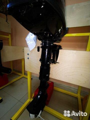 Лодочный мотор hidea 5л.с Б/У