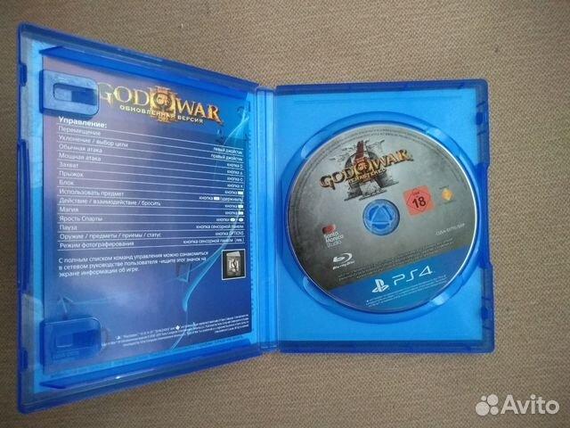 God of war 3 remastered ps4  89236366419 купить 2