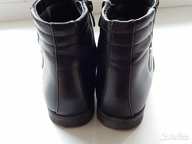 Туфли-полуботинки детские на девочку  89614983783 купить 4