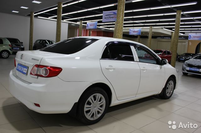 Toyota Corolla, 2011  89828708454 купить 5