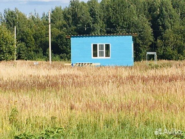 House 36 m2 on the plot 6 hundred.