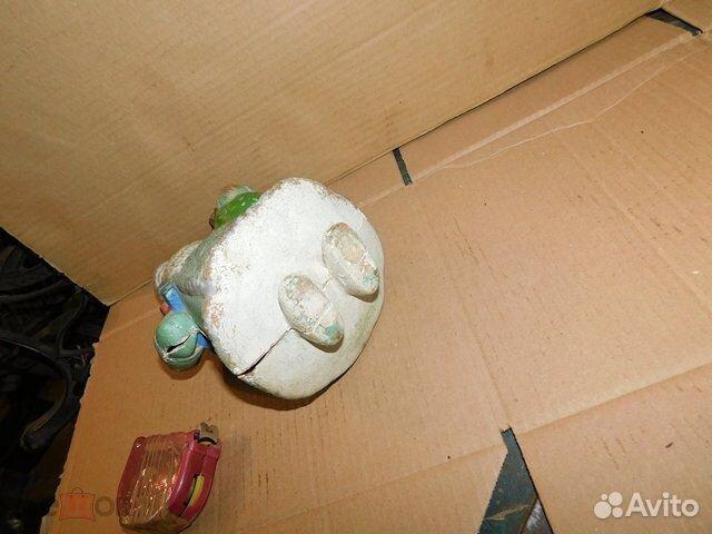 Старинная новогодняя игрушка дед Мороз пресс-опилк  89065103360 купить 6