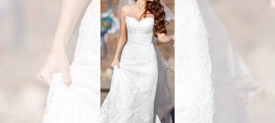5b2836673 Свадебное платье кружевное с корсетом Айвори купить в Москве на Avito —  Объявления на сайте Авито
