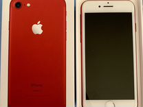 iPhone 7 128gd red (product) RED