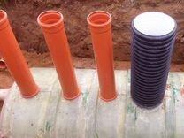 Септик для дома и дачи энергонезависимый 1-10 м3