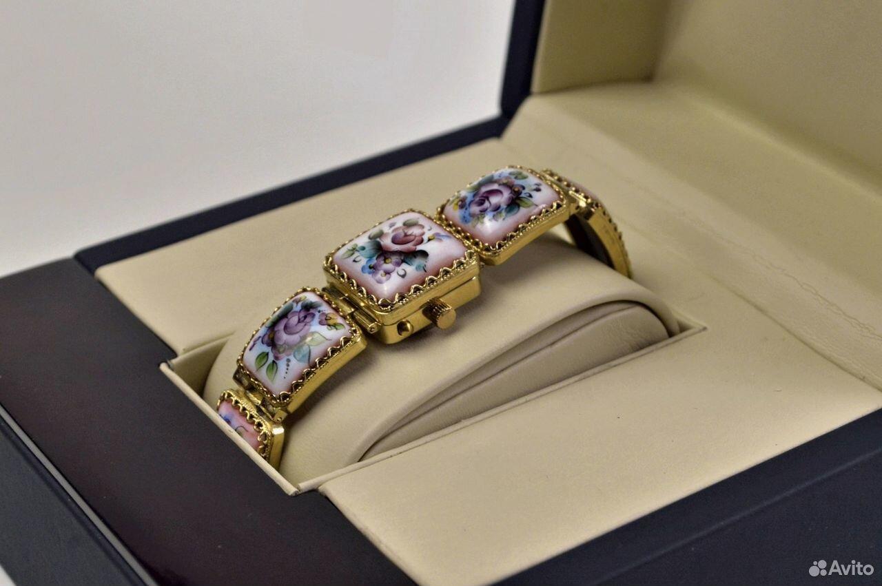 Женские часы Чайка Новые 17 камней Россия 1998 год  89525003388 купить 2