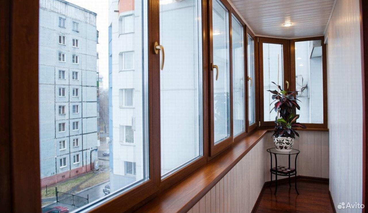 Отделка балконов, лоджий, сайдинг, вагонка, пвх