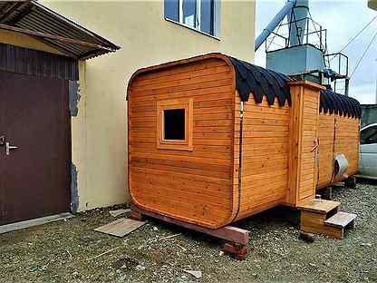 фото баня бочка под ключ недорого московская область