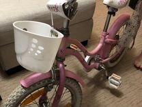 Велосипед детский розовый для девочек