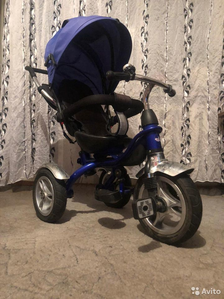 Детский трех колесный велик  89137630747 купить 4