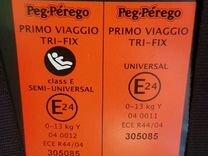 Автокресло Peg Perego с базой Isofix