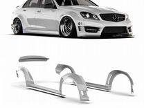 Обвес Mercedes-Benz W204 wide body