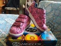 Роликовые кроссовки heelys 30 размер