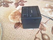 Радио-часы будильник Sony