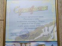 Сертификат на путешествие и отдых на о.Итуруп
