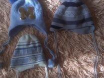 Теплые шапки на малыша