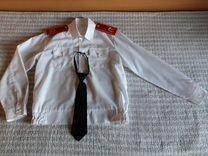 Рубашка парадная кадетская школьная