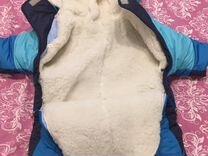 Комбинезон-трансформер на овчине