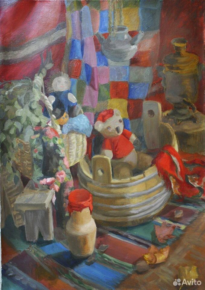 Живопись картины натюрморт  89105401423 купить 1
