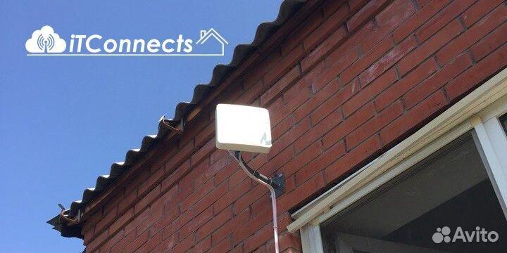 Безлимитный Интернет 4G комплект LTE-4 + Установка