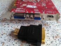 Видеокарта MSI GT 240 — Товары для компьютера в Москве