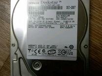HDD накопитель на 400гб в хорошем состоянии
