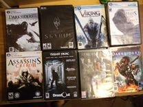 Большая коллекция игровых дисков более 36 шт
